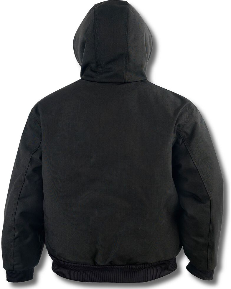 Carhartt Men's Extremes® Quilt-Lined Active Work Jacket, Black, hi-res