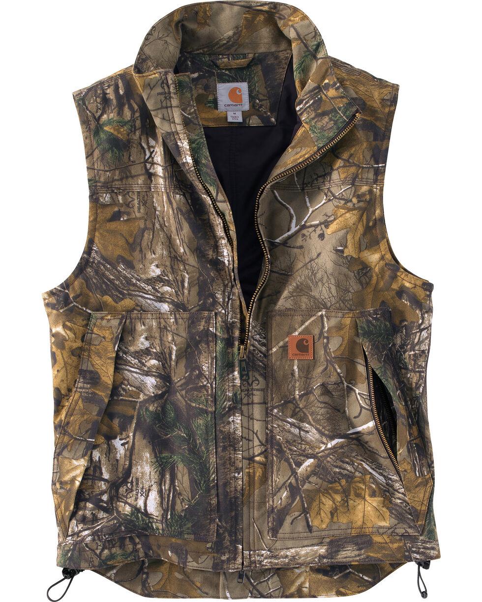 Carhartt Men's Quick Duck Camo Vest, Camouflage, hi-res