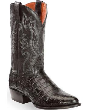 Dan Post Men's Steel Toe Work Boots, Black, hi-res