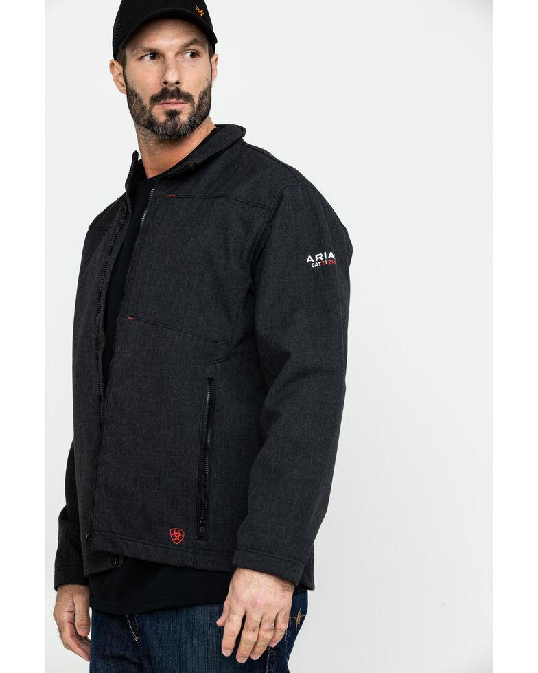 Ariat Men's Black FR Vernon Jacket - Tall , Black, hi-res