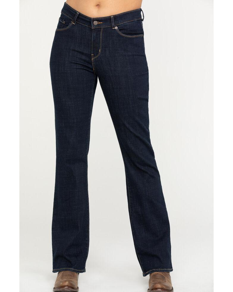 Levi's Women's Dark Wash Classic Bootcut Jeans  , Blue, hi-res
