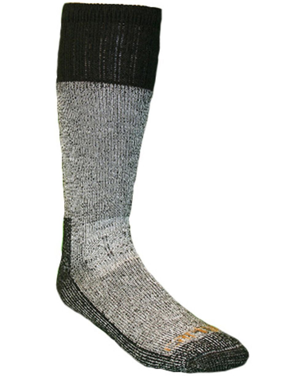 Carhartt Men's All Season Steel Toe Socks, Black, hi-res