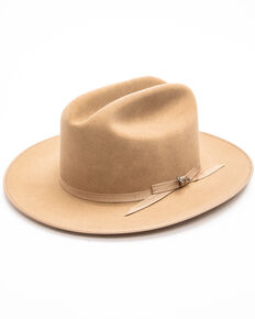 Stetson Men's Open Road Western Felt Hat , Tan, hi-res