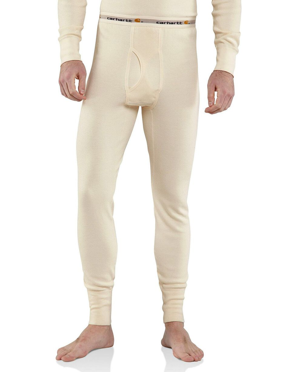 Carhartt Heavy Weight Cotton Thermal Underwear - Big & Tall, Natural, hi-res