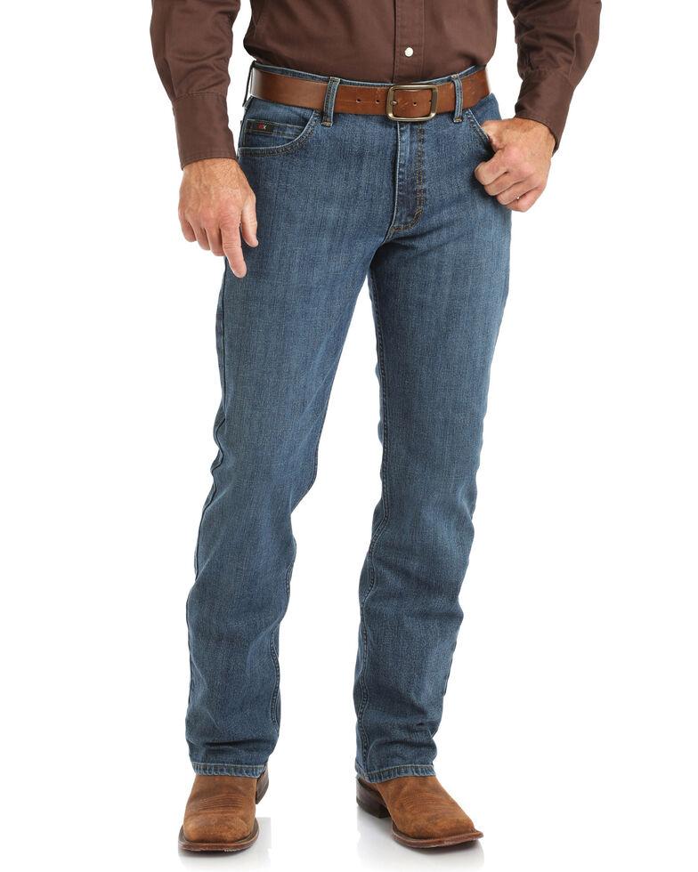 Wrangler 20X Men's Stone Blue Slim Bootcut Competition Jeans , Blue, hi-res