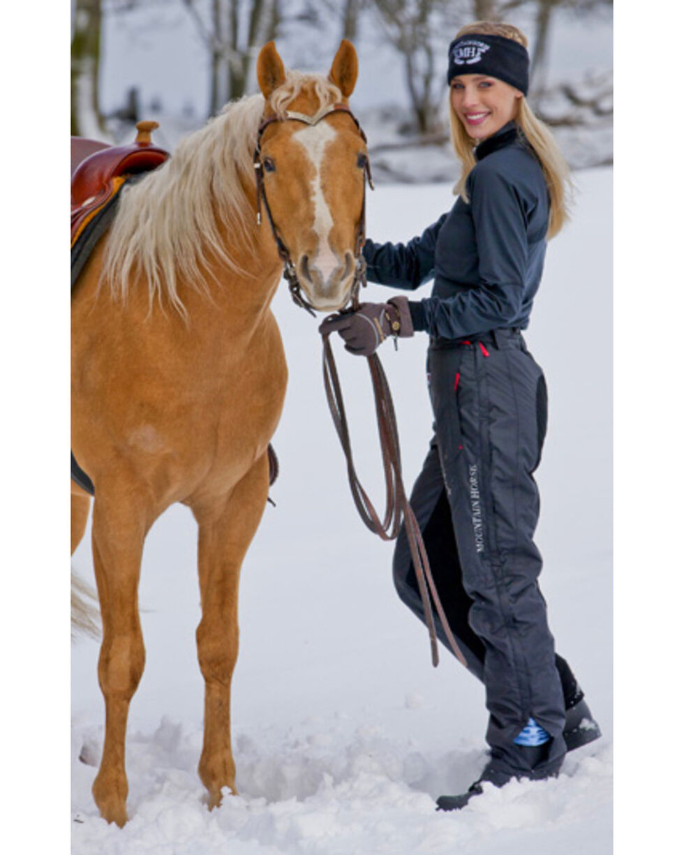 Mountain Horse Polar Unisex Breeches, Black, hi-res