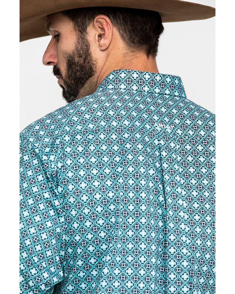 Ariat Men's Kerrington Stretch Geo Print Long Sleeve Western Shirt - Tall , Multi, hi-res