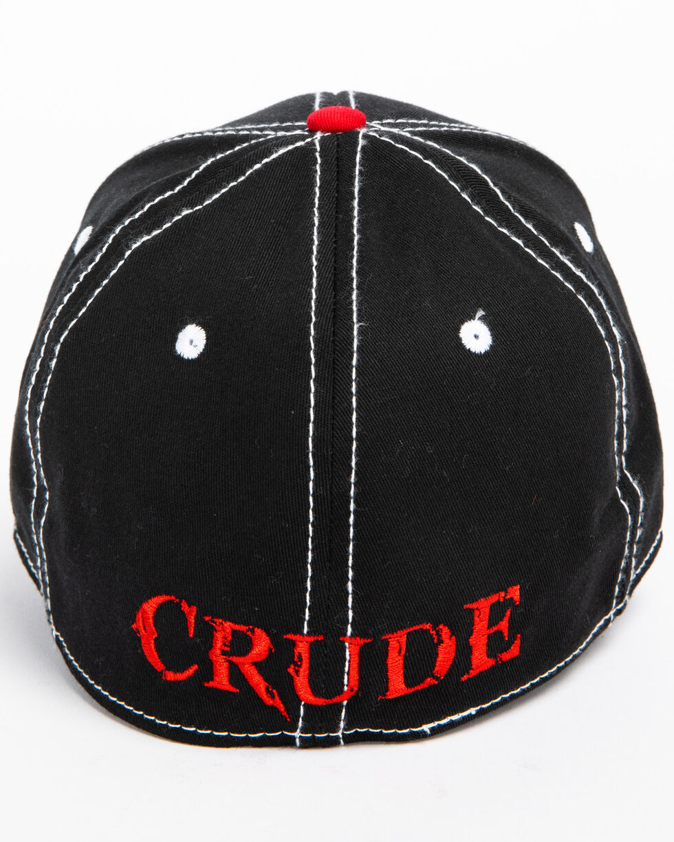 Cowboy Hardware Men's Crude Skull Rig Cap, Black, hi-res