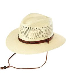 01a703b2736 Stetson Airway UV Protection Straw Hat