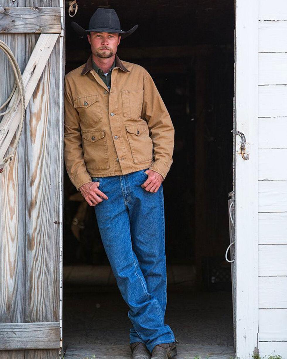 Schaefer Outfitter Men's Saddle Vintage Brush Jacket - 3XL, Brown, hi-res