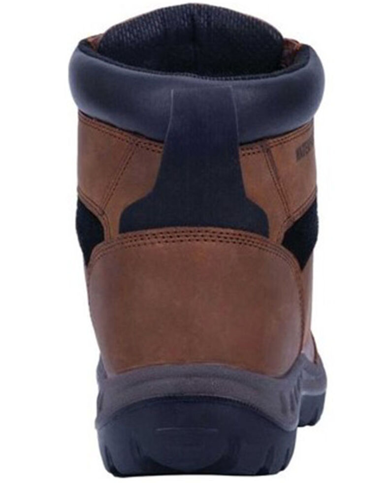 Dan Post Men's Burgess Waterproof Work Boots - Steel Toe, Tan, hi-res