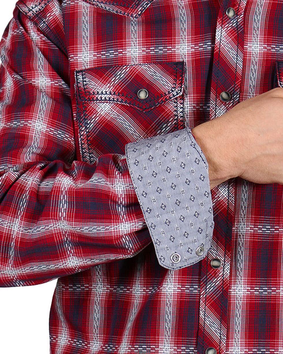 Moonshine Spirit® Men's Red Dirt Long Sleeve Western Shirt, White, hi-res