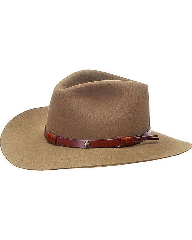 Stetson 5X Catera Fur Felt Cowboy Hat, Bark, hi-res