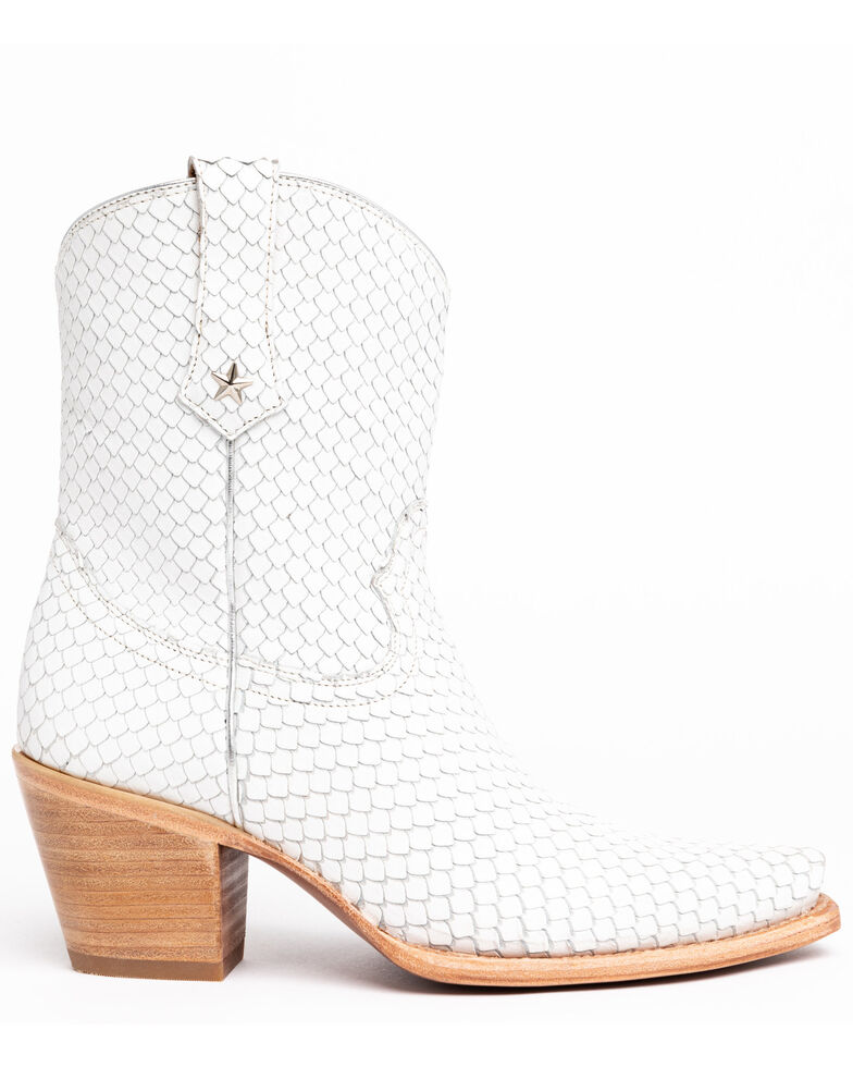 Idyllwind Women's Snake My Way Western Boots - Snip Toe, White, hi-res