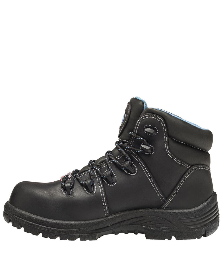 Avenger Women's Framer Waterproof Work Boots - Composite Toe, Black, hi-res