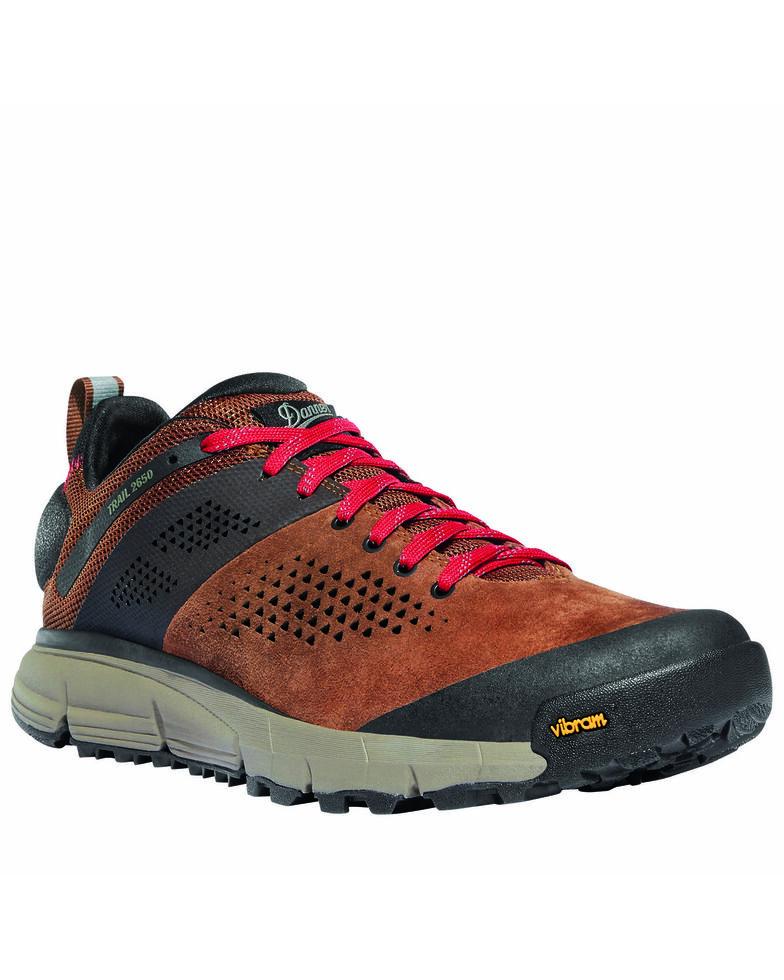 Danner Men's Trail 2650 Hiking Shoes - Soft Toe, Brown, hi-res
