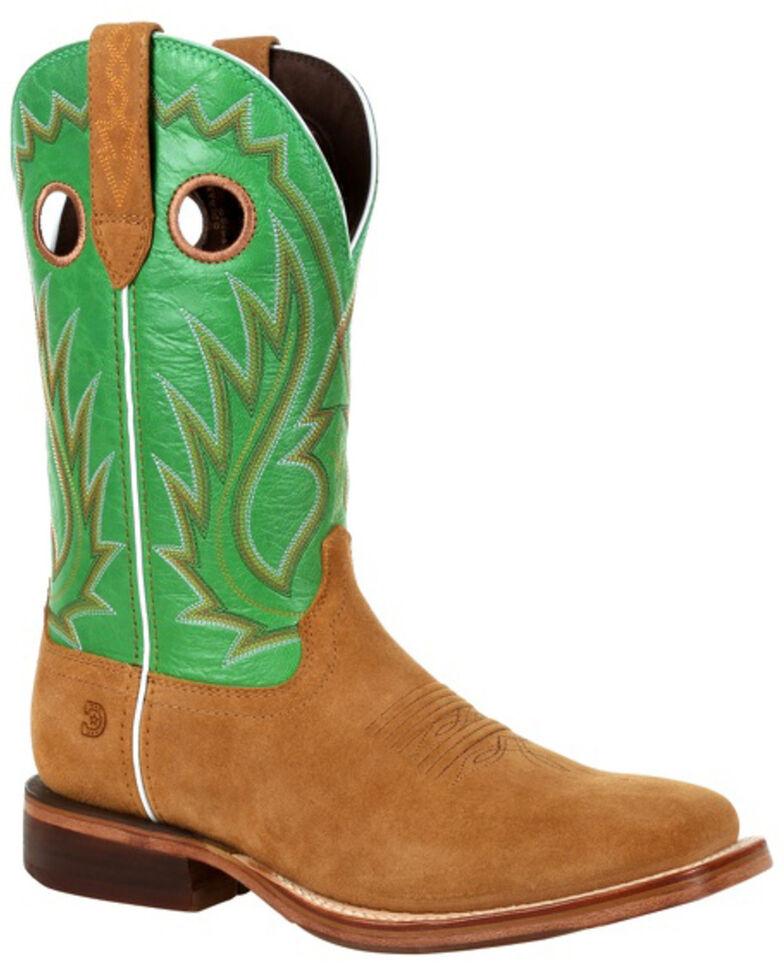 Durango Men's Arena Pro Western Boots - Square Toe, Kelly Green, hi-res