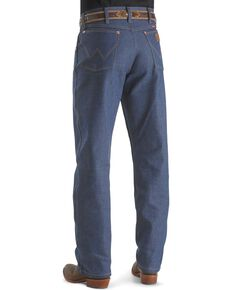 Wrangler 31MWZ Cowboy Cut Rigid Relaxed Fit Jeans - Big & Tall, Indigo, hi-res
