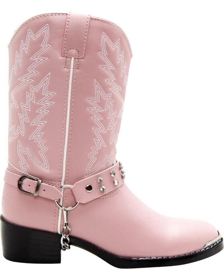Durango Kid's Western Boots, Pink, hi-res