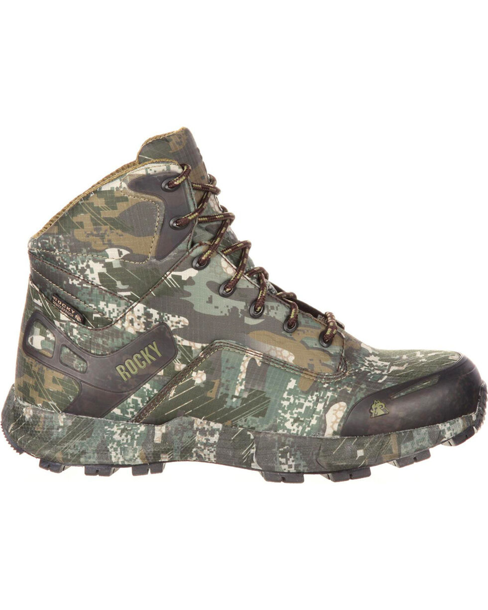 "Rocky Men's Grey Broadhead Waterproof 6"" Waterproof Trail Hiker Boots - Round Toe , Grey, hi-res"