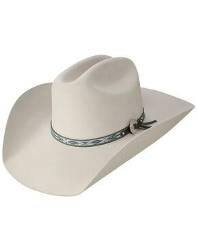 Stetson Silver Fox 6X Felt Cowboy Hat, Light Grey, hi-res
