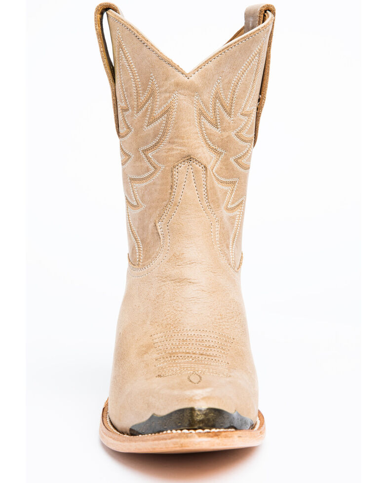 Idyllwind Women's Wheels Natural Western Booties - Pointed Toe, Natural, hi-res