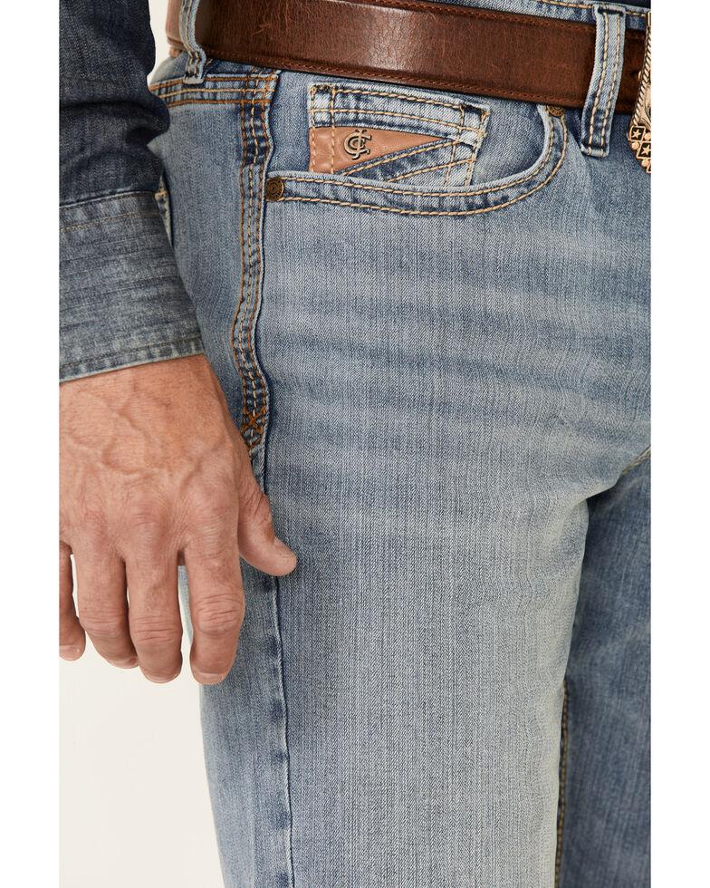 Cody James Core Men's Pistol Light Performance Stretch Slim Straight Jeans , Blue, hi-res