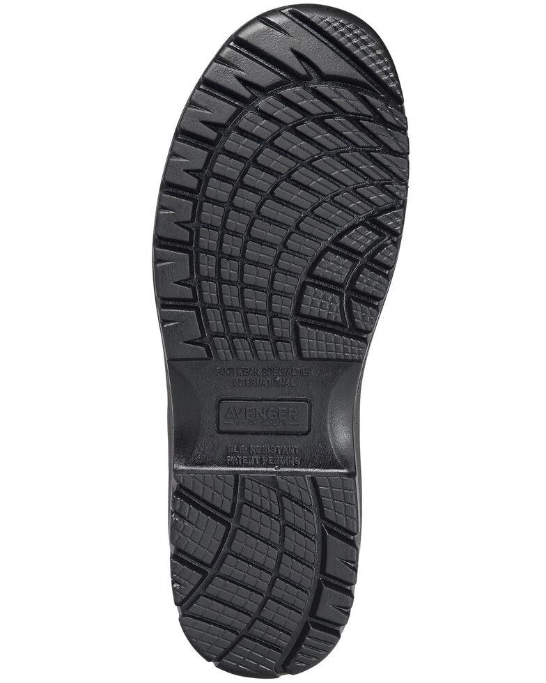Avenger Women's Breaker Work Boots - Composite Toe, Dark Brown, hi-res