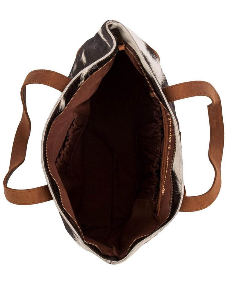STS Ranchwear Women's Classic Cowhide Tote, , hi-res