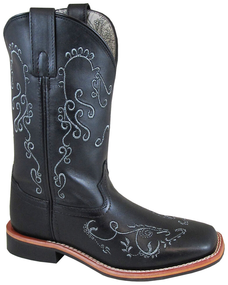 Smoky Mountain Women's Marilyn Western Boots - Square Toe, Black, hi-res