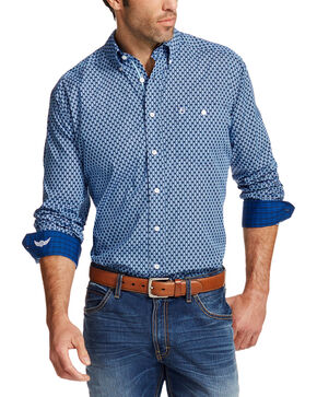Ariat Men's Blue Prime Relentless Collection Western Shirt , Multi, hi-res