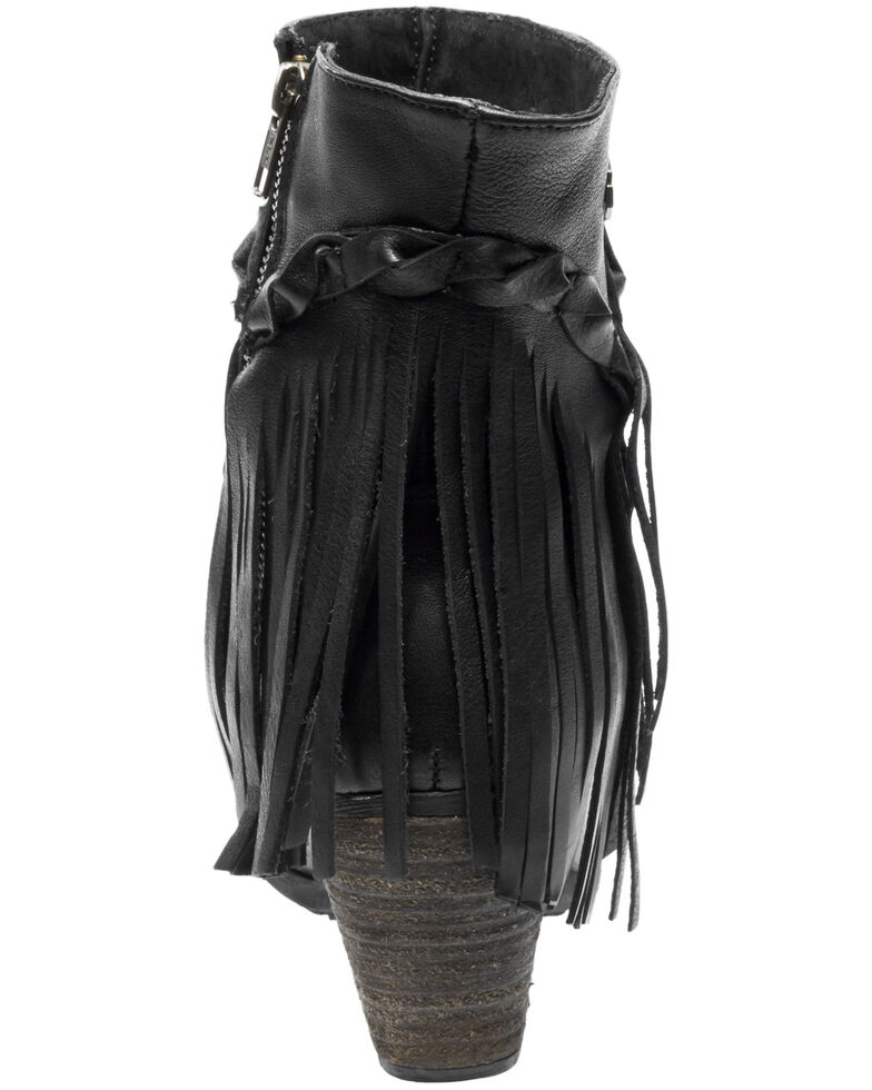Harley Davidson Women's Retta Moto Boots - Round Toe, Black, hi-res