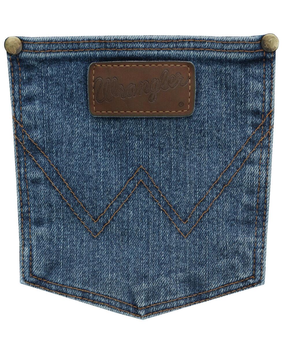 Wrangler Men's Vintage Stone Premium Performance Cowboy Cut Jeans - Big & Tall , Indigo, hi-res