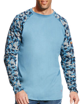 Ariat Men's FR Baseball Tee, Multi, hi-res