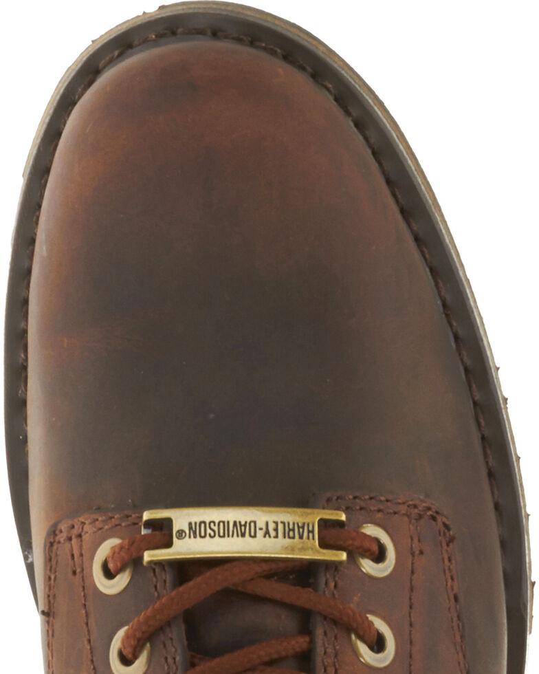 Harley-Davidson Men's Darrol Leather Motorcycle Shoes, Brown, hi-res