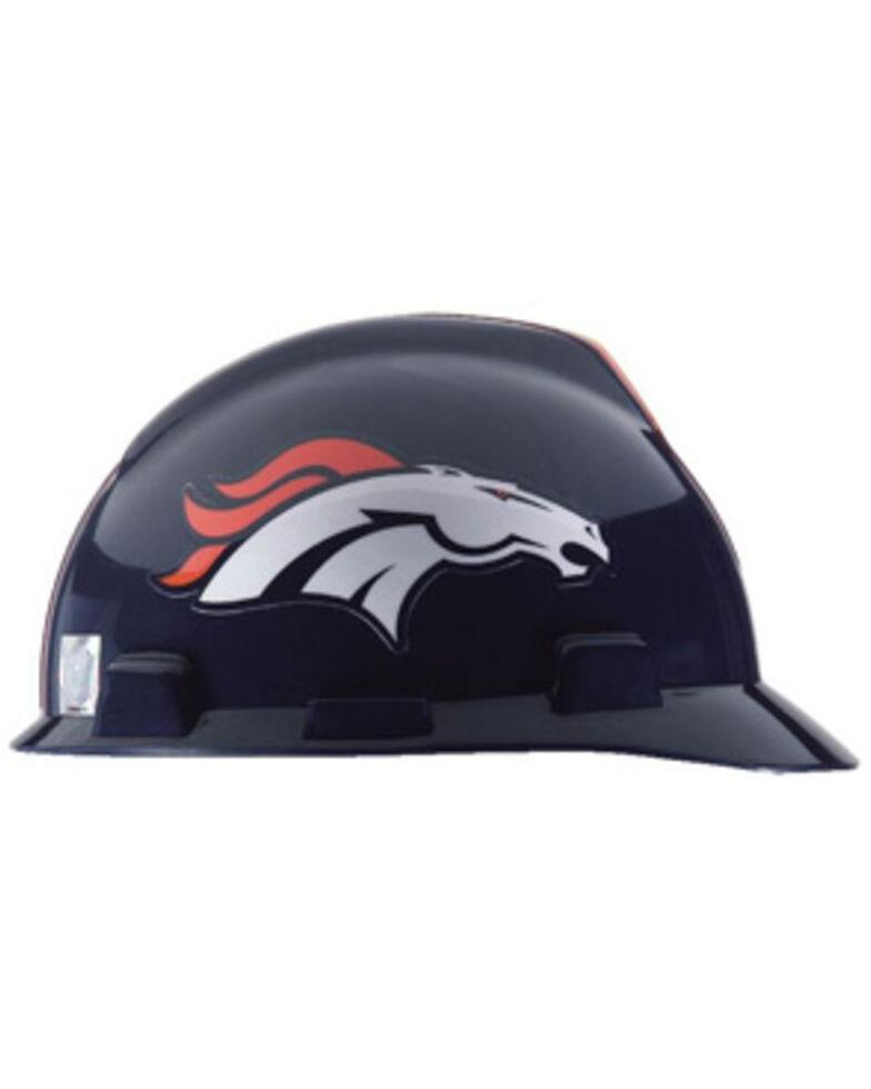 MSA Denver Broncos VGard Full Brim Work Hard Hat , Multi, hi-res