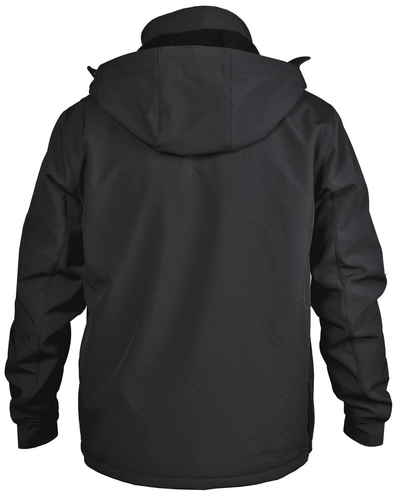 STS Ranchwear Men's Black Barrier Jacket , Black, hi-res