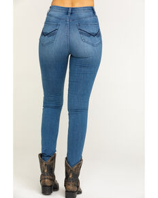 Idyllwind Women's Southern Comfort High Rise Skinny Jeans, Blue, hi-res