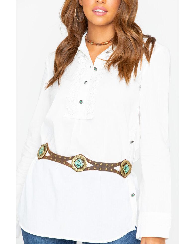 Tasha Polizzi Women's Ezrah Shirt, White, hi-res