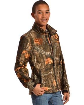Red Ranch Boys' Bonded Camo Jacket, Black, hi-res