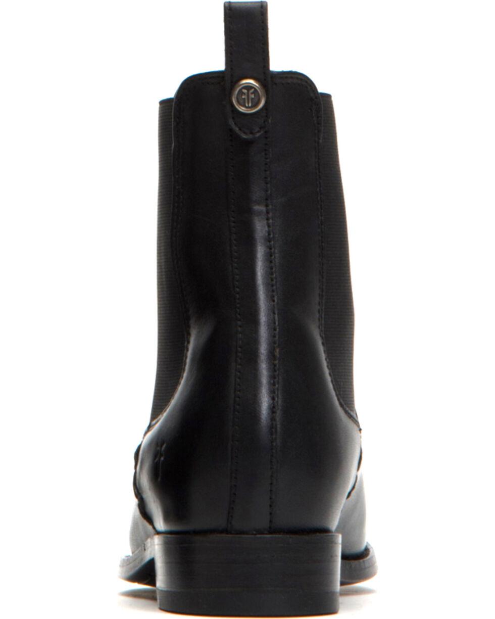 Frye Women's Black Melissa Chelsea Boots - Round Toe, Black, hi-res