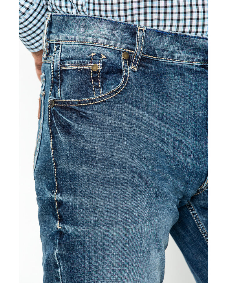Wrangler Men's Limited Edition Retro Boot Cut Jeans, Denim, hi-res