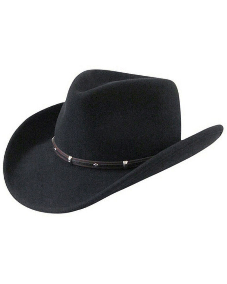 Wind River by Bailey Rider Black Western Hat, Black, hi-res