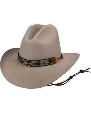 Bailey Men's Beige Hickstead Slope Crease Hat , Beige/khaki, hi-res
