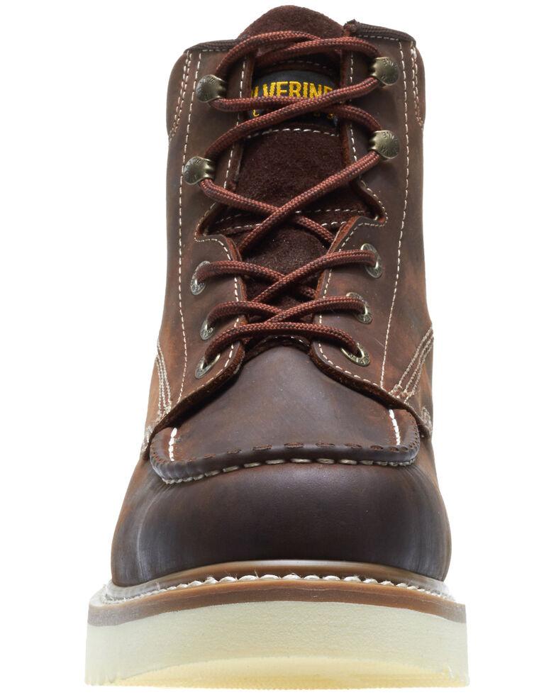 Wolverine Men's Loader Work Boots - Soft Toe, Brown, hi-res