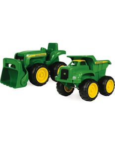 John Deere Truck & Tractor Toy Set, Green, hi-res