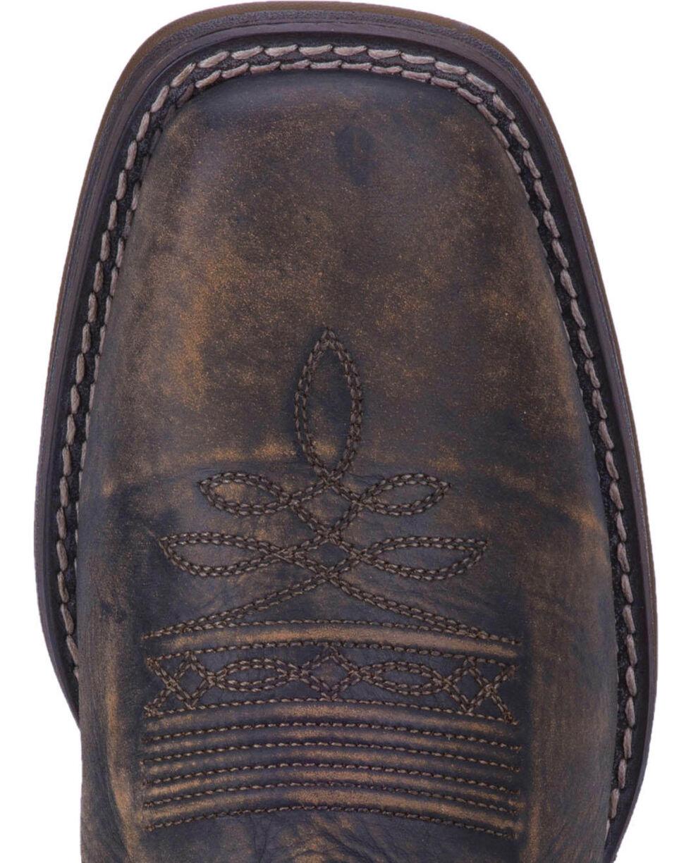 Laredo Men's Delta Camo Cowboy Boots - Square Toe, Tan, hi-res