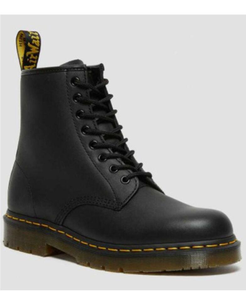 Dr. Martens Men's Black 1460 Industrial Lace-Up Boots - Round Toe, Black, hi-res