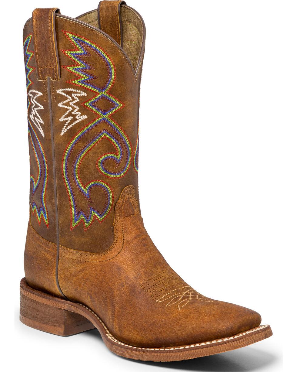 Nocona Women's Cowpoke Western Boots, Tan, hi-res