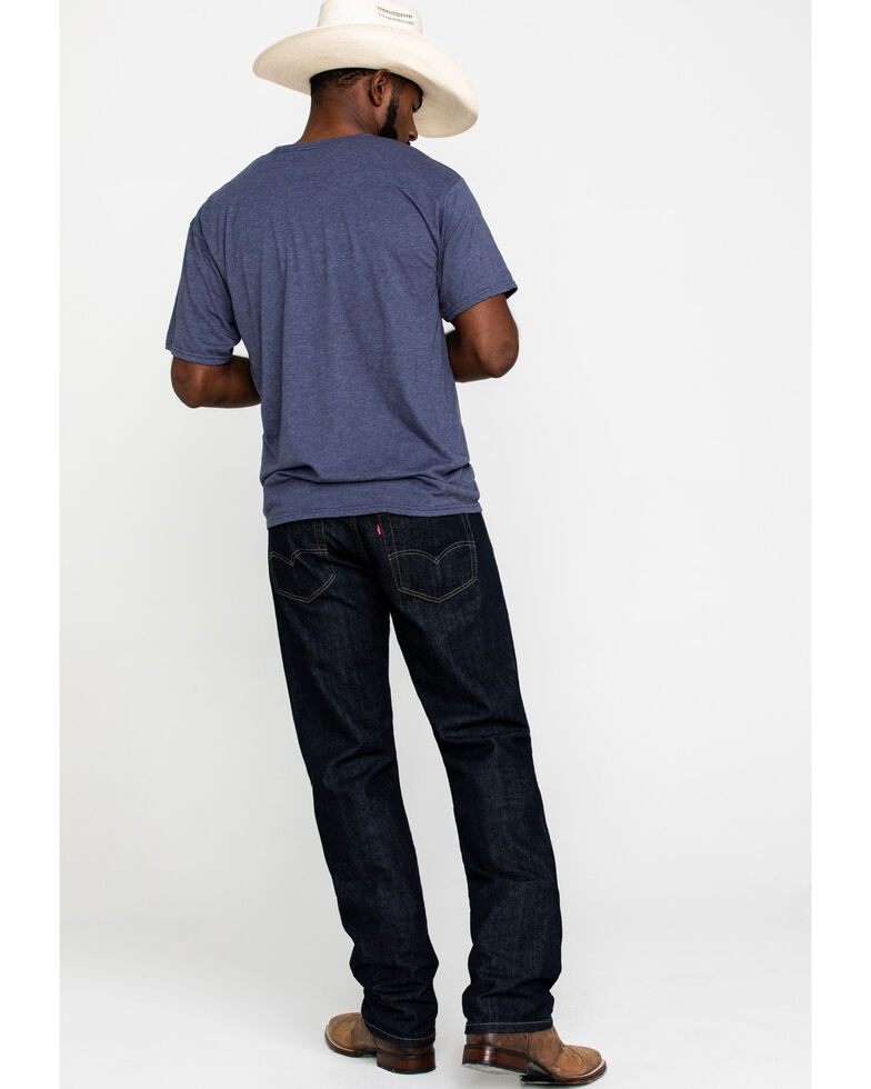 Levi's Men's 559 Tumbled Rigid Relaxed Straight Leg Jeans , Blue, hi-res